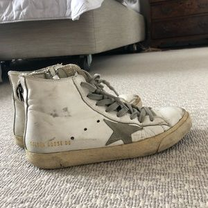 Golden Goose Francy high tops size 7